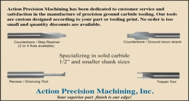 Custom Carbide Tooling